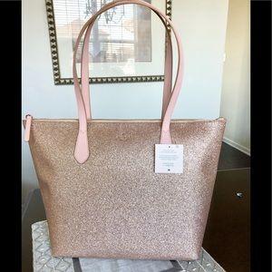 Kate Spade Large Glitter tote shoulder bag